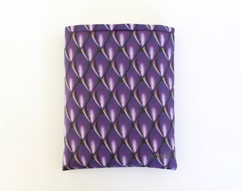 Dragon Scales Amethyst book sleeve
