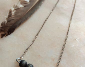Necklace wood beads