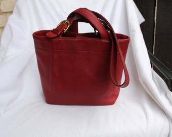 Vintage Coach  Waverly Bucket Tote Style 4157