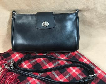 Vintage Coach Black Small Cross Body Clutch 9154 | Coach Bag | Coach Crossbody