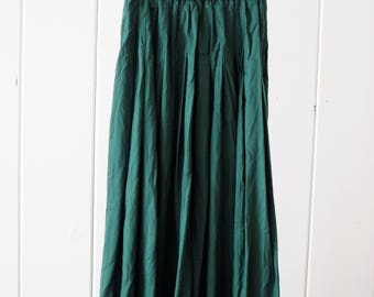 Vintage Stone and Thomas Green Pleated Skirt/ Deadstock skirt