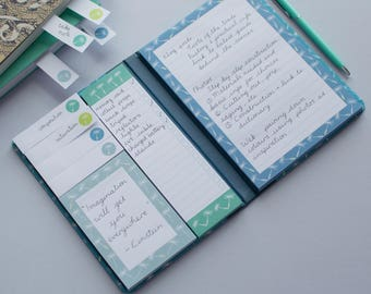 Assorted Sticky Notes Set - Shopping/To Do list Book