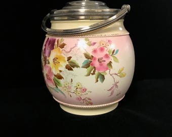 Porcelain Biscuit Jar