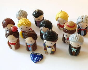Doctor Who Regenerations Charms