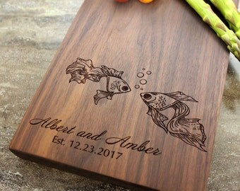 Personalized Cheese Board, Serving Board, Bread Board, Custom, Engraved, Wedding Gift, Housewarming Gift, Anniversary Gift, Engagement #26