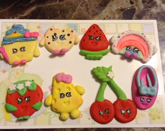 Shopkins Clay Bow Centers