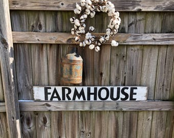 "Rustic farmhouse 42"" sign, Farmhouse sign"