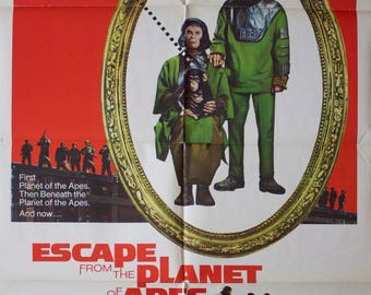 """Movie poster """"Escape from planet of the apes"""" -Original"""