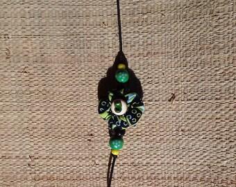 Wax flower bracelet
