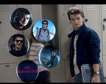 "Steve Harrington - Stranger Things  Button Collection - Available in both 1"" & 1.5"" Button Sizes!"