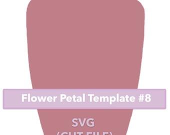 Paper Flower Template #8 SVF file