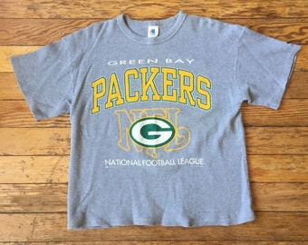 1990's NFL Green Bay Packers Waffle Knit T Shirt