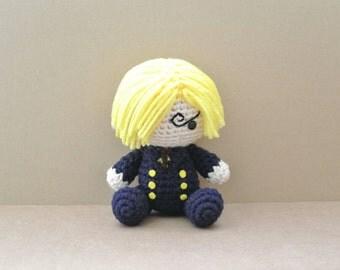 Vinsmoke | One Piece | Amigurumi Doll | READY TO SHIP