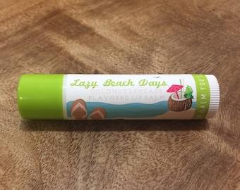 COCONUT LIMEADE Lip Balm - All Natural -Homemade