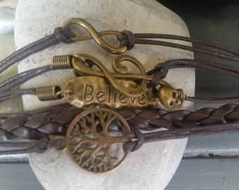 Tree Of Life Skull Bracelets