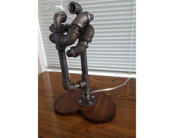 The Dance - Pipe Lamp - Pipe Art