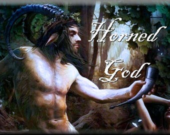 the HORNED GOD | Cologne Ritual & Spell Oil | the Craft | Wicca | Witch | Pan | Cernunnos
