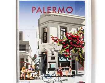 Buenos Aires poster – Palermo