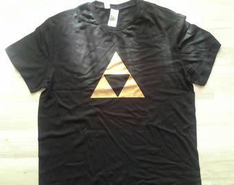 T-shirt adult Zelda triforce symbol