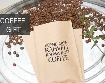 Coffee Lover Gift-Organic Fair Trade Single Origin Coffee Beans-Fresh Roasted Coffee-Coffee Gift Basket-Gourmet Coffee Gift-Specialty Coffee