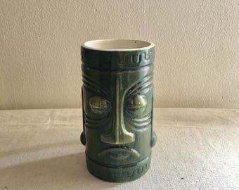 TIKI mug, Vintage Hawaii Decor, Vintage Hawaiiana,  This is a great addition for any collector!  R65-C1303,  Fantastic condition!