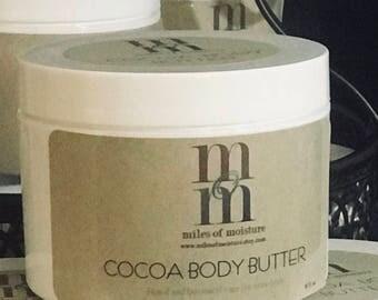 Cocoa Body Butter | All Natural Body Butter, Body Butter Cream