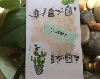 lessons - an art zine