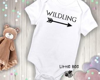 Wildling, Game of thrones, Baby boy, Baby Onesie, GOT, New Baby, Baby shower gift, Funny baby onesie, Pregnancy gifts, Geek