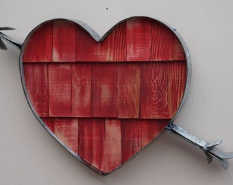 Arrow Through the Heart - Wall Hanging