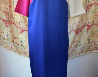 1980s Vintage Dress By the Jones Girl
