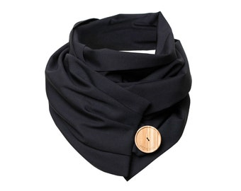 Scarf in wool - Classic Black