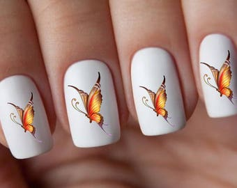 Butterfly Nail Decals