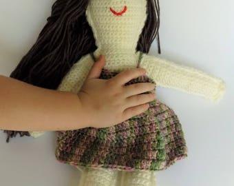 Sweet Crochet Doll