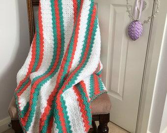 Ariel - Handmade Crochet Blanket