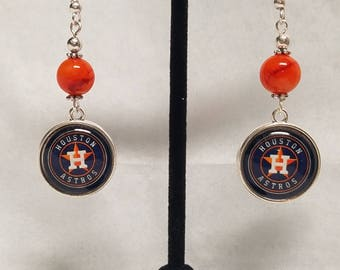 Houston Astros earrings