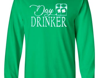 Day Drinker Funny Long sleeve T-Shirt