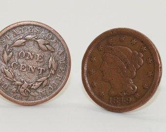 Early American Coin Cufflinks