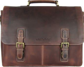 Bag brown briefcase Business bag handbag leather messenger bag purse shoulder bag purse