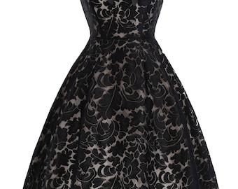 Black Widow Vintage Dress