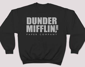 Dunder Mifflin Sweater. Paper Company Sweatshirt. The Office. The Office Sweatshirt