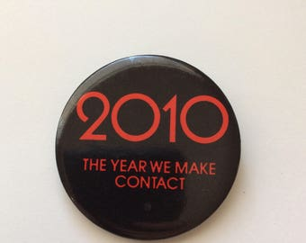 2010 Promotional Movie Pinback Button from 1984 - Vintage Sci-Fi Movies
