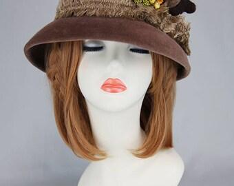 Bear Hat (dark brown)
