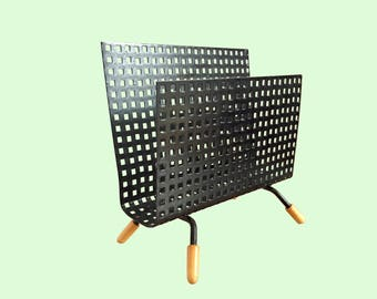 Perforated Metal Letter Holder / Mategot Style Pilastro Tomado