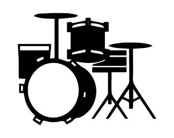 Drum Percussion Musical Instrument Sound Rhythm Band Drummer Snare SVG EPS PNG Vector