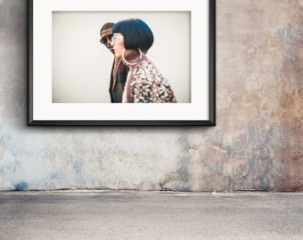 Milan Fashion Week limited photo print for home or office wall decor and interior design