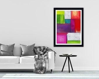 Abstract print, abstract art, abstract wall art, Giclee print, Modern art, digital print, Contemporary art, Wall art, Wall decor Funky art