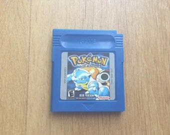 Pokemon blue Edition Game Boy Color