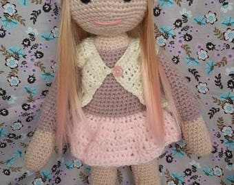 Charming doll about 30 cm named Tinna