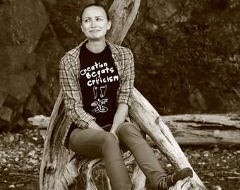 Creation Begats Criticism T-Shirt