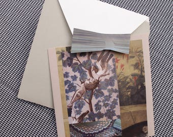 Collage Letter Card: Neat Nest
